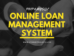 Online Loan Management System