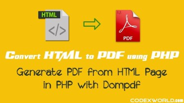 Web Page To PDF Converter in PHP
