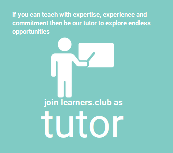 Join Learners.Club as Tutor