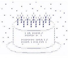 Strange Birthday Wishes With Ascii Text Studentschillout Funny Birthday Cards Online Alyptdamsfinfo