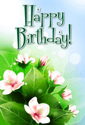 printable happy birthday card
