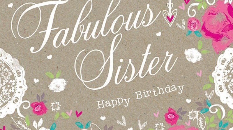 happy birthday card sister StudentsChillOut – Happy Birthday Card to My Sister