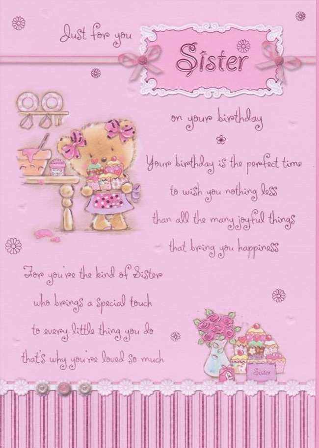 Best Birthday wishes for a Sister StudentsChillOut – Birthday Greetings to a Sister Quotes