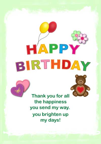 41 Best Cute Happy Birthday Printable Cards Studentschillout