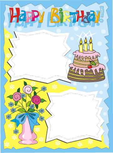 designs for birthday cards