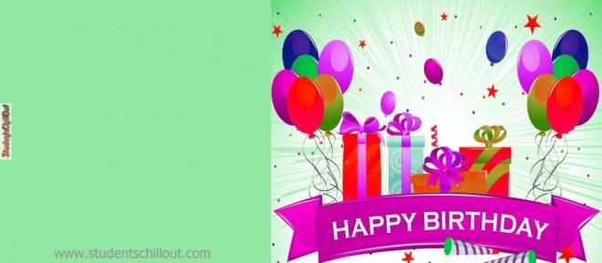 happy birthday cards free printable