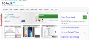 pdf editing software free download