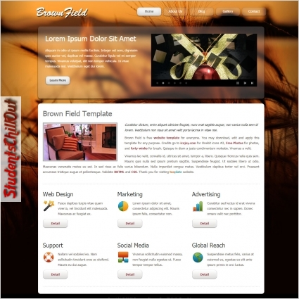 free html website templates download
