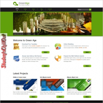 download free html website templates