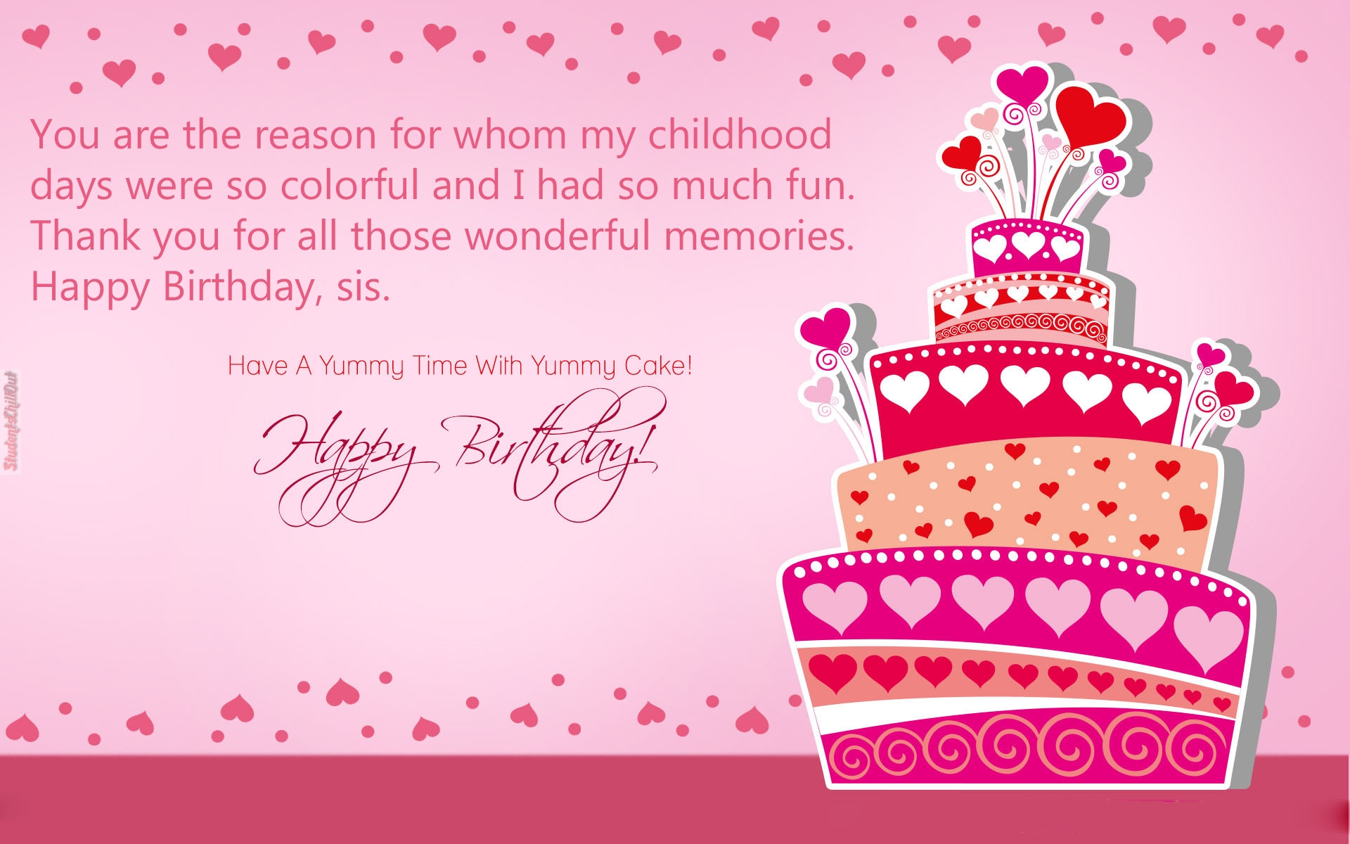 Inspirational thank you for happy birthday wishes best sister birthday wishes kristyandbryce Images