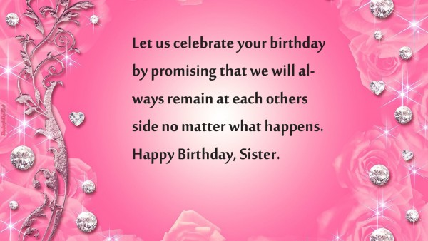 best birthday wishes for a sister