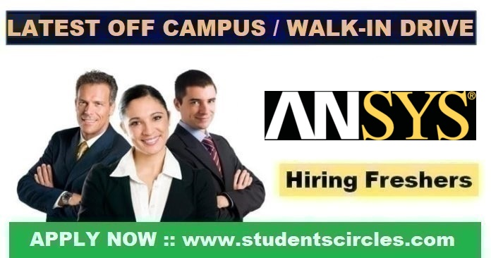 ANSYS Off Campus Drive 2020