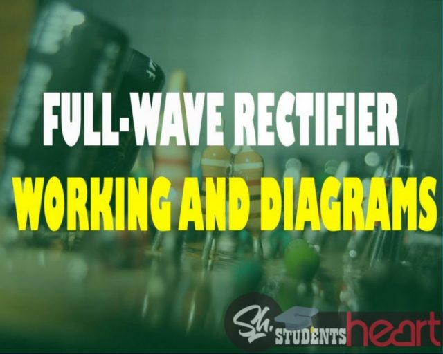 Students Heart full wave rectifier