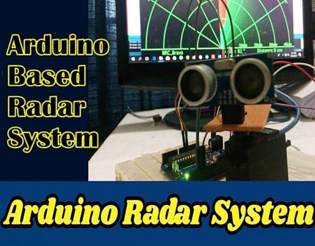 Arduino Based Radar Project Using Ultrasonic Sensor