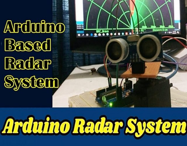 Arduino Based Radar Project Using Ultrasonic Sensor