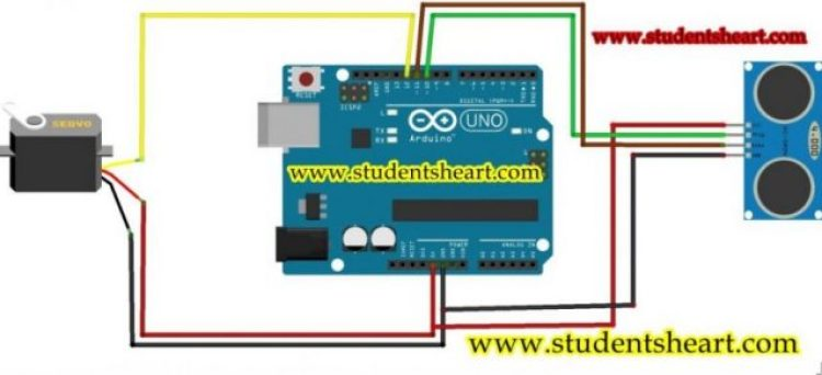 arduino based radar system circuit