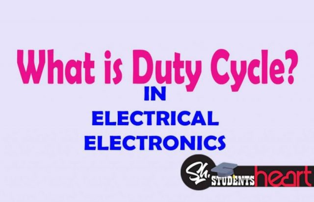 What Is Duty Cycle In Electrical And Electronics Meaning Of Biasing Circuits