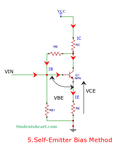 Self Emitter Bias circuit