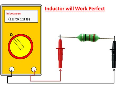 test an inductor