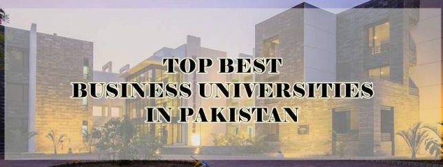 Business Universties in Pakistan 2018