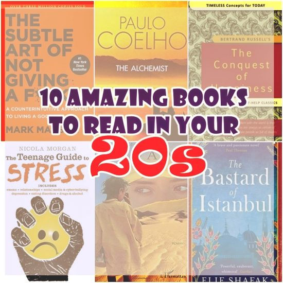 Top 10 Books Never Forget to Read in Your 20s