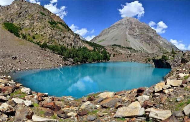 Blue Lake Naltar Gilgit Baltistan