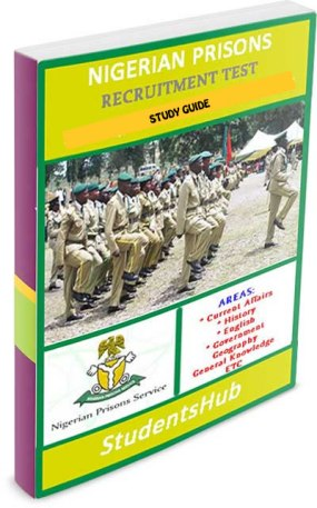 Nigerian Prisons Recruitment Test Past Questions and Answers