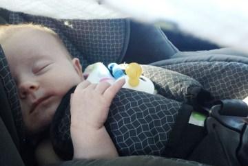 Prevoz.org z dojenčkom