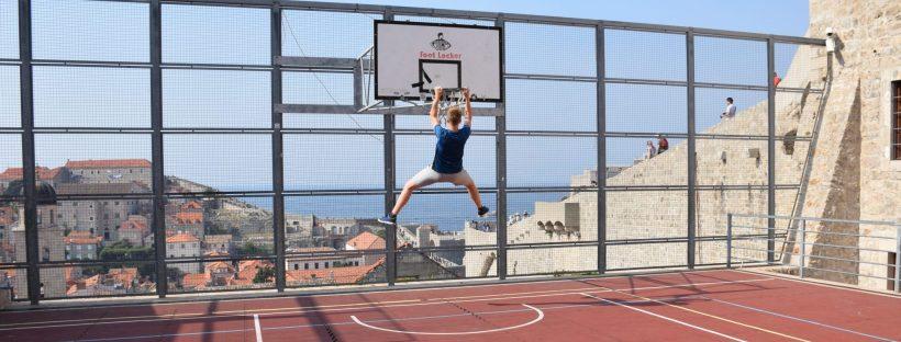 Čas za očeta - košarka