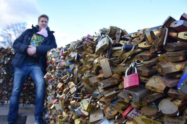 Pont Neuf in zaklenjene ljubezni
