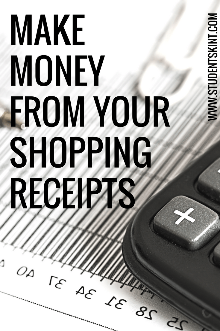 Make extra money from receipts