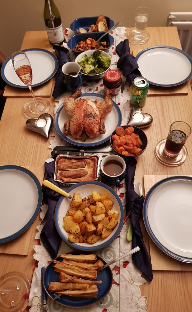 Christmas or roast dinner on a budget