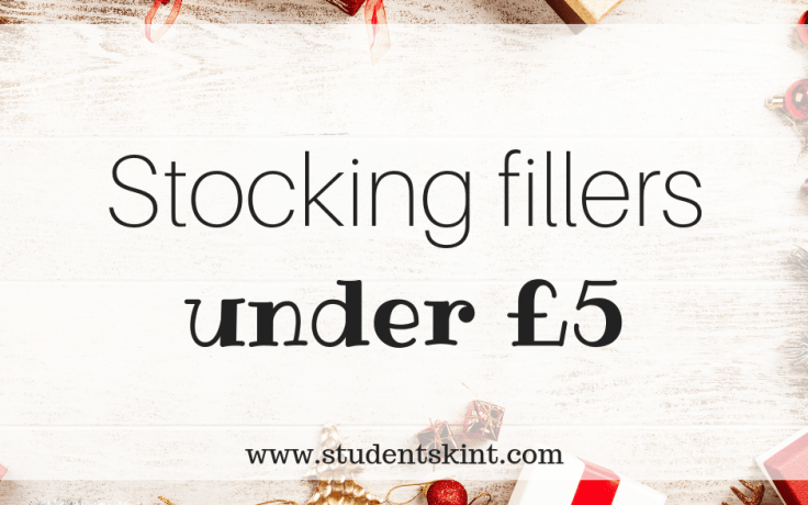 Student-friendly stocking fillers under £5