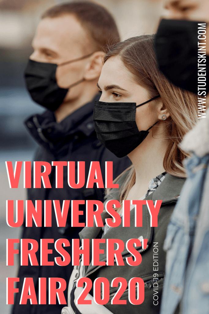 Free Virtual Freshers' Fair