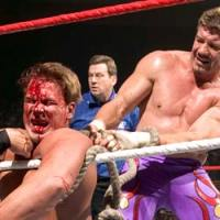 Pro Wrestling's Strap Match (without the dirty stuff...)