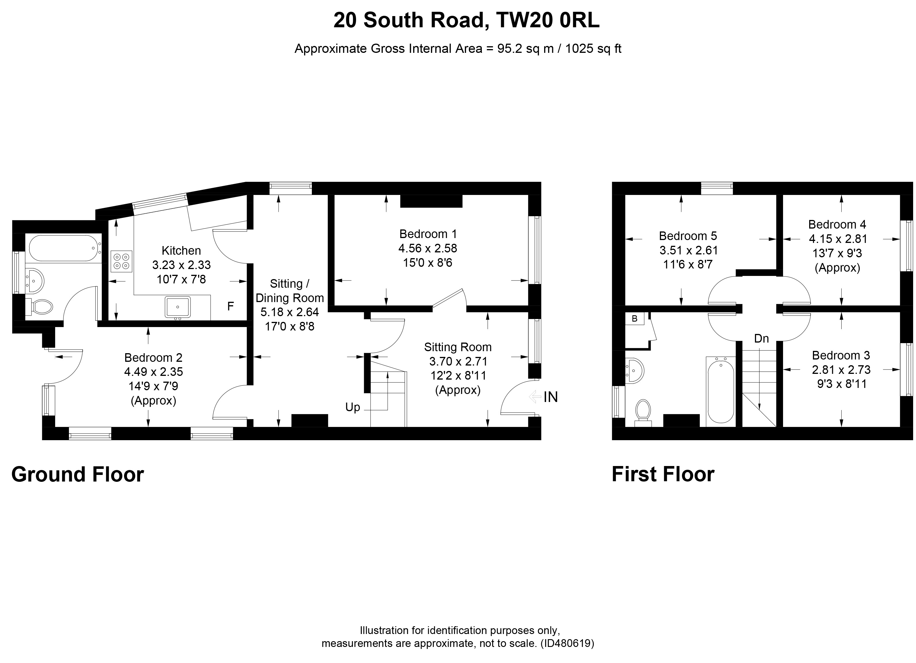 20 South Road, Englefield Green