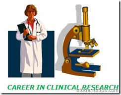 CAREER IN CLINICAL RESEARCH
