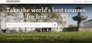 Course Era Online Courses
