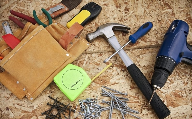 Stud Finder in a Home Improvement Project