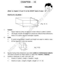 CBSE Class 5 Mental Maths Volume Worksheet [ 1200 x 1057 Pixel ]