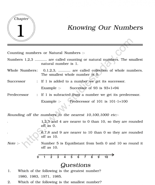 small resolution of CBSE Class 6 Mental Maths Knowing Our Numbers Worksheet