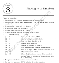 CBSE Class 6 Mental Maths Playing With Numbers Worksheet [ 1200 x 1004 Pixel ]