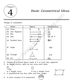 CBSE Class 6 Mental Maths Basic Geometrical Ideas Worksheet [ 1200 x 1004 Pixel ]