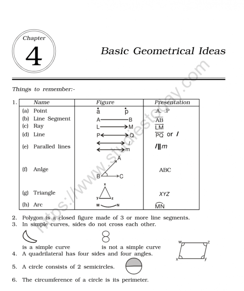 small resolution of CBSE Class 6 Mental Maths Basic Geometrical Ideas Worksheet
