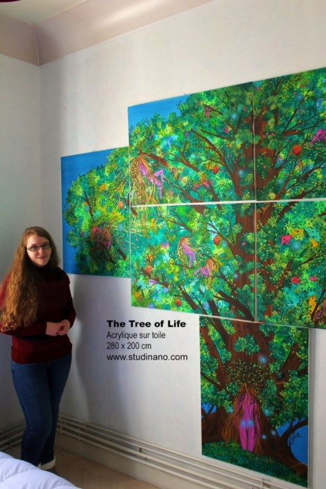The Tree of Life - Peinture - Painting