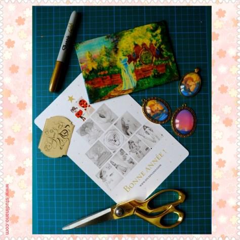 """Bientôt des nouveautés dans la boutique Etsy de Studinano (https://www.etsy.com/shop/studinano) : des bijoux Roi Lion ! Toujours disponibles : les reproductions de mes toiles. Notamment """"Hobbit Home"""" pour les fans du Seigneur des Anneaux."""