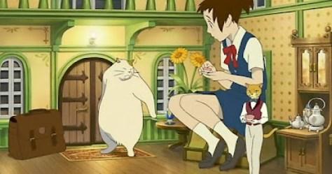 Haru est invité à prendre le thé par le Baron. Elle rencontre aussi Mouta, l'un de ses fidèles amis.