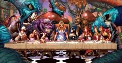 La Cene version Alice au Pays des Merveilles par Raven Gregory et Robert Gill