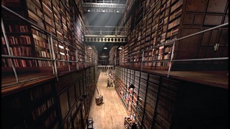 Capture d'écran de La Bibliothèque des Ombres (Silence in the Library), Doctor Who, épisode 8 , saison 4 (2008)