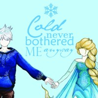 [Work in progress] Dessins : La Reine des Neiges et Jack Frost : Jelsa